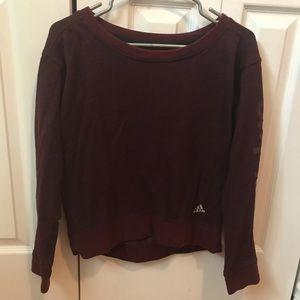 Adidas Maroon Sweater